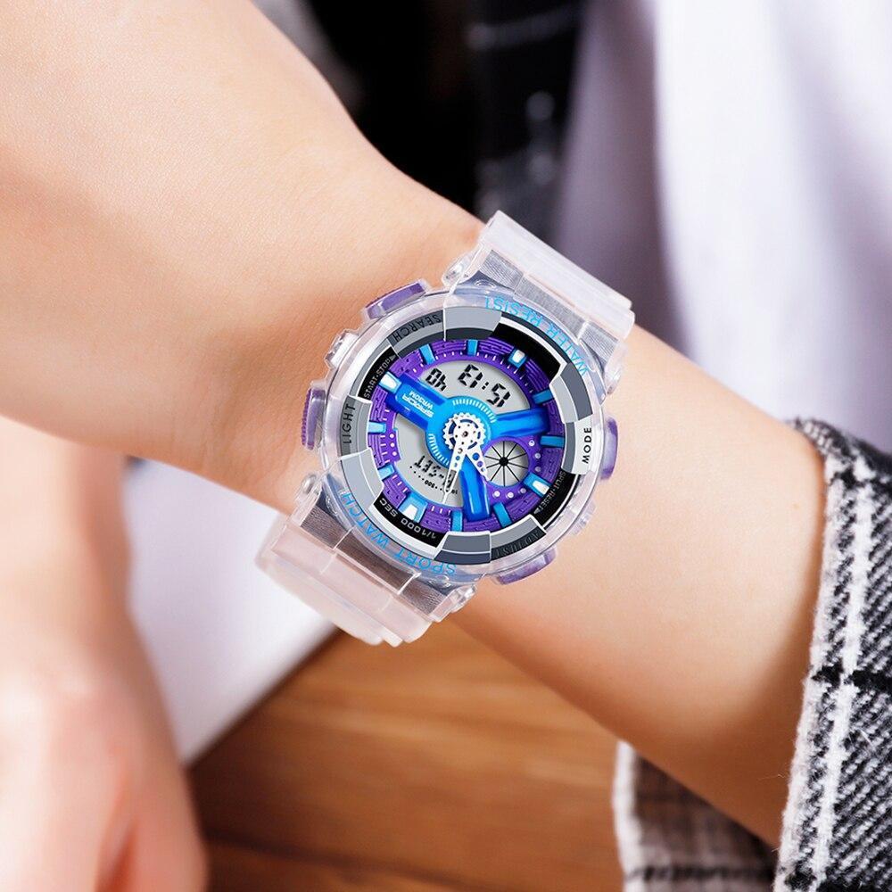 三田298グラムスタイルメンズ腕時計トップブランドの軍事スポーツ腕時計男性時計のショック防水クォーツ時計レロジオmasculino_画像5