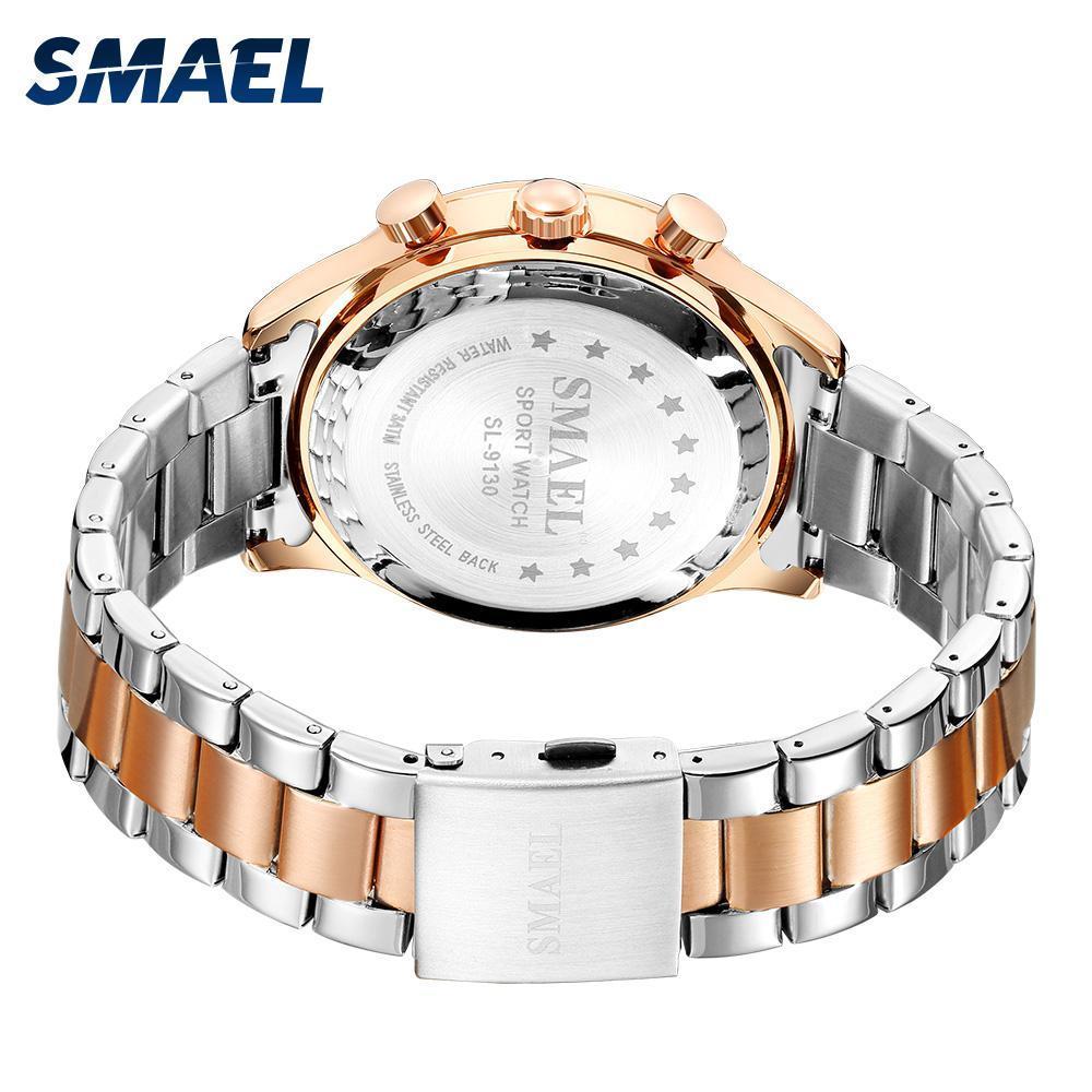 新しいでwacth 2020クォーツ時計男性防水レロジオmasculino自動日付男性時計9130ステンレス鋼腕時計男性_画像4