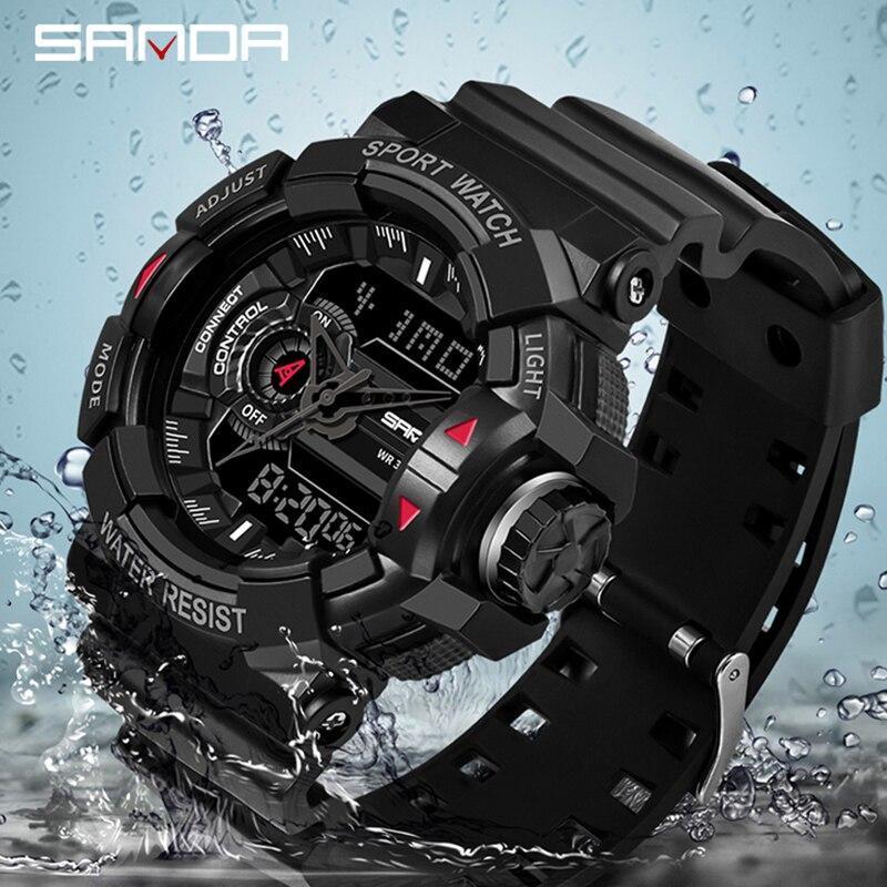 三田 599 ミリタリーメンズ腕時計トップブランドの高級防水スポーツ腕時計ファッションクォーツ時計男性時計レロジオ masculino_画像1