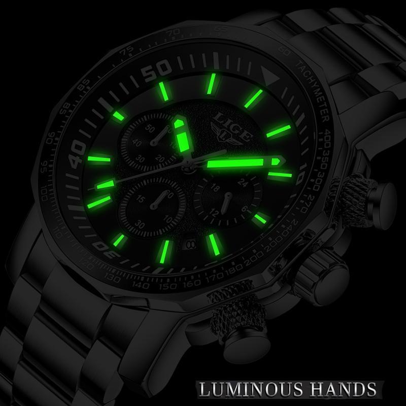 2020 ligeトップブランドの高級時計男性ミリタリースポーツ防水腕時計メンズクォーツ時計レロジオmasculino_画像4