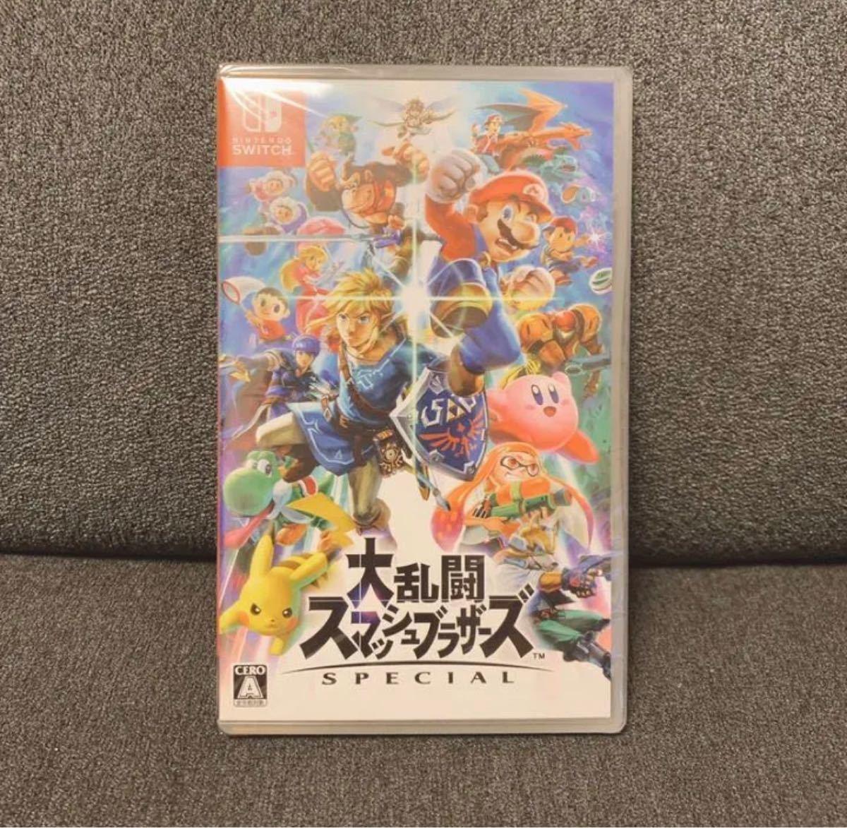 任天堂スイッチソフト 大乱闘スマッシュブラザーズ SPECIAL