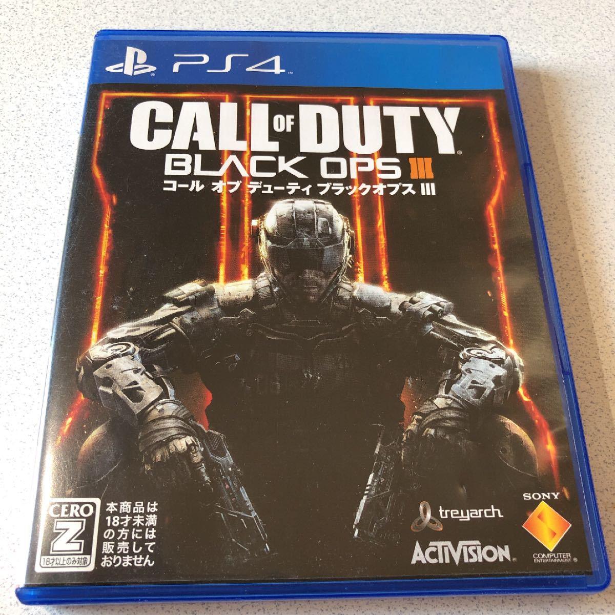 PS4 コールオブデューティブラックオプス3 BLACK OPS