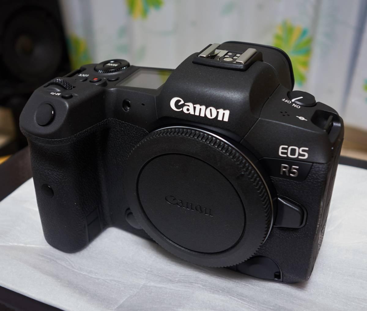 新品 Canon EOS R5