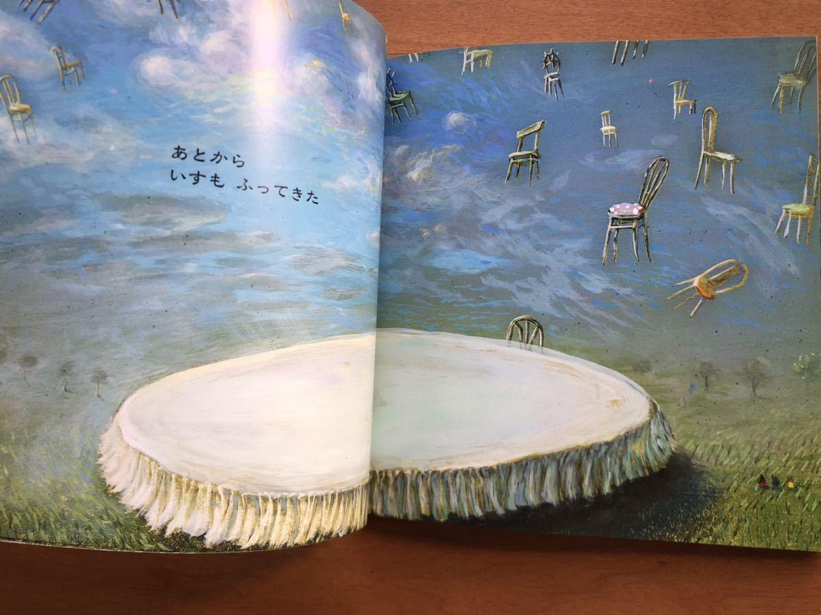 こどものとも年少版 びっくり ぎょうてん 小長谷清実 ペテル・ウフナール 降矢なな 2003年 初版 絶版 テーブル 絵本 保育 幼児