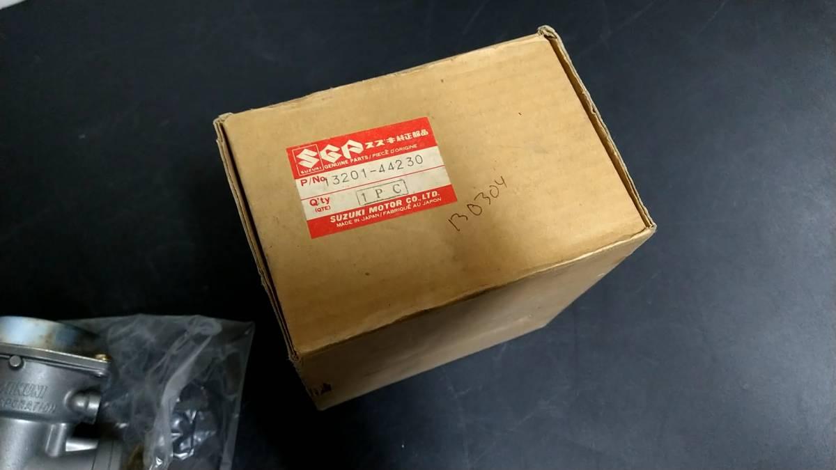 希少! 当時物 純正 新品 GSX400E キャブレター 左 ゴキ ザリ GS_画像2