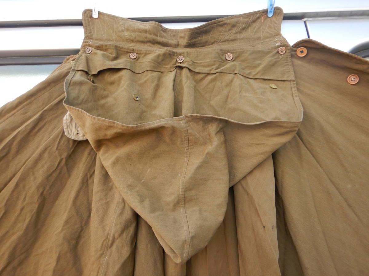 ②戦前 戦中 日本陸軍 陸軍 日本軍 将校 士官 尉官 外套 将校用外套 マント 防寒マント フード付き 軍装品 当時もの_画像8