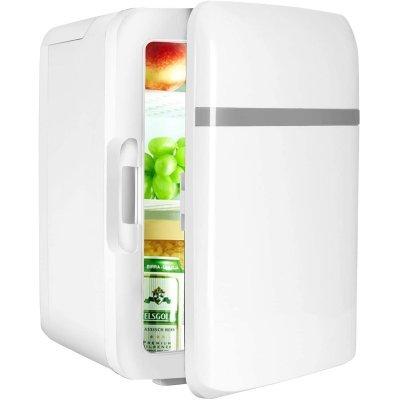 最新版 小型冷蔵庫 ミニ冷蔵庫 冷温庫 10L 保冷 保温 家庭 車載両用 自動車用 ポータブル コンパクト AC DC_画像1