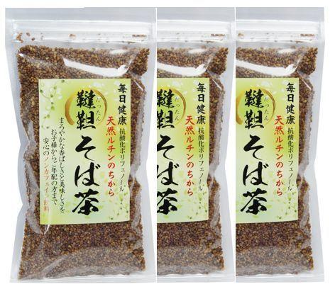 韃靼そば茶3袋セット|天然ルチンを豊富に含む韃靼(だったん)そば100% 送料無料 血圧 健康茶