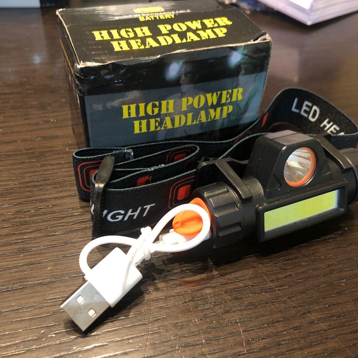 LEDヘッドランプ  充電式 LEDヘッドライト 高輝度