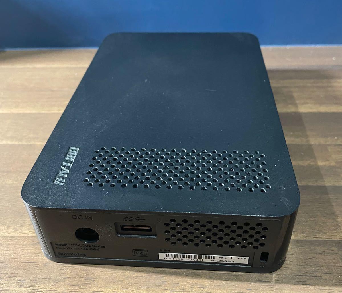 BUFFALO 外付け ハードディスク 3TB HD-LC3.0U3-BKC USB3.0 HDD