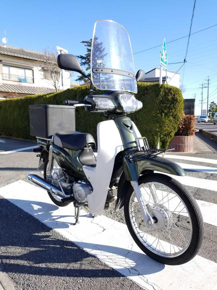 「愛知県より スーパーカブ50 AA04型インジェクション セル付き4速 現状販売 2」の画像1