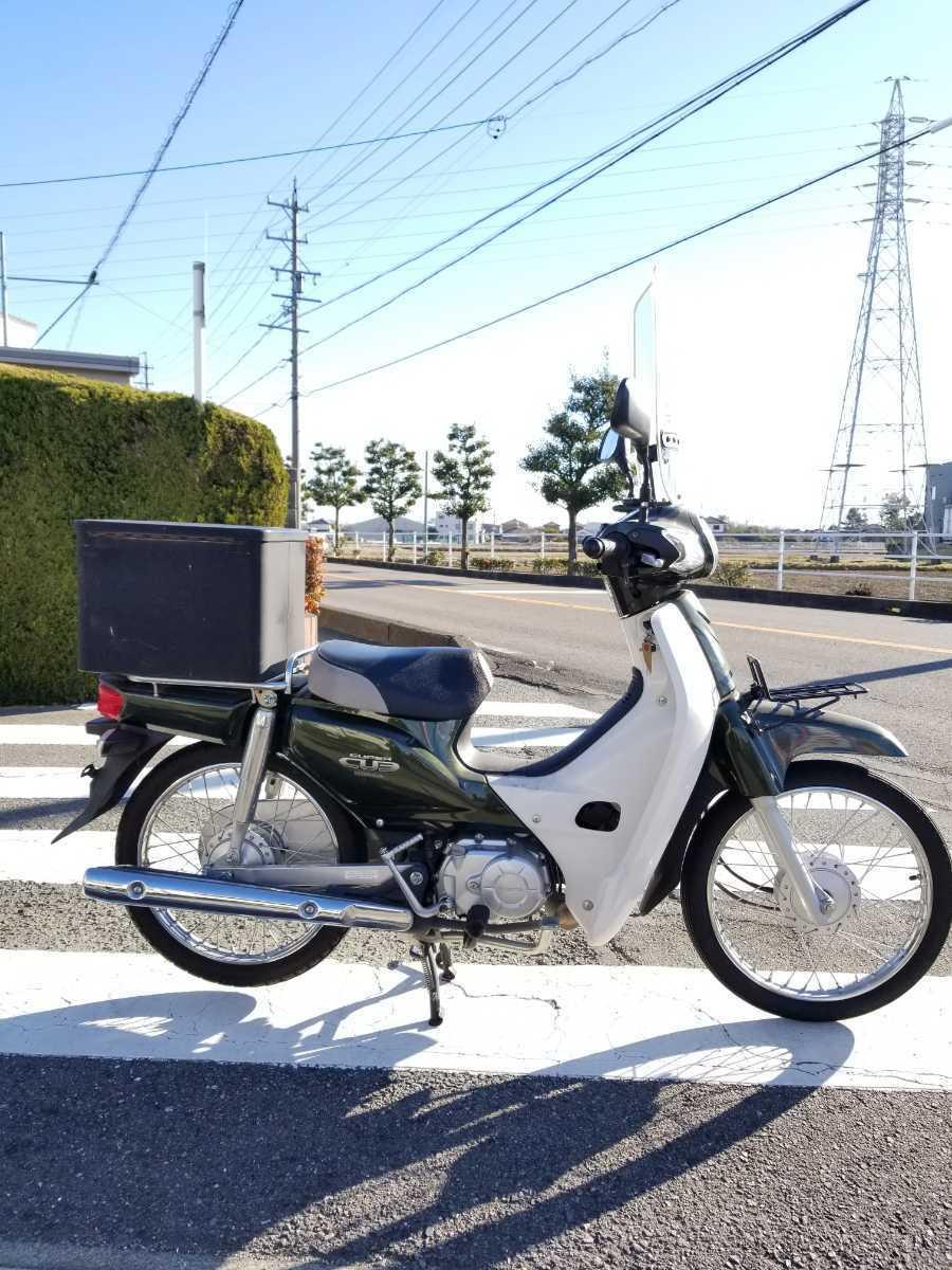 「愛知県より スーパーカブ50 AA04型インジェクション セル付き4速 現状販売 2」の画像2