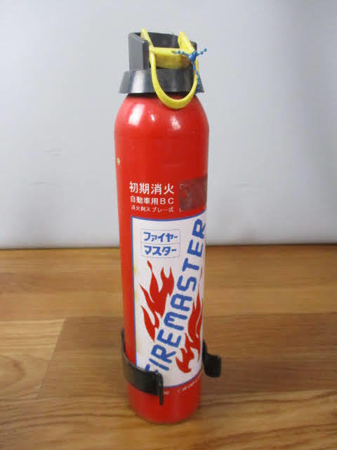 ◆ブリッツ 消火器 3点セット◆BLITZ Fire controller ファイヤーコントローラー 自動車用 消火剤スプレー式 使用期限切 まとめ♪H-150116_画像3