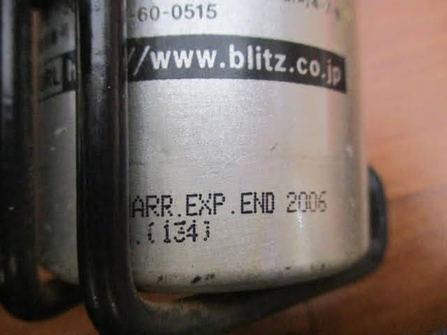 ◆ブリッツ 消火器 3点セット◆BLITZ Fire controller ファイヤーコントローラー 自動車用 消火剤スプレー式 使用期限切 まとめ♪H-150116_画像9