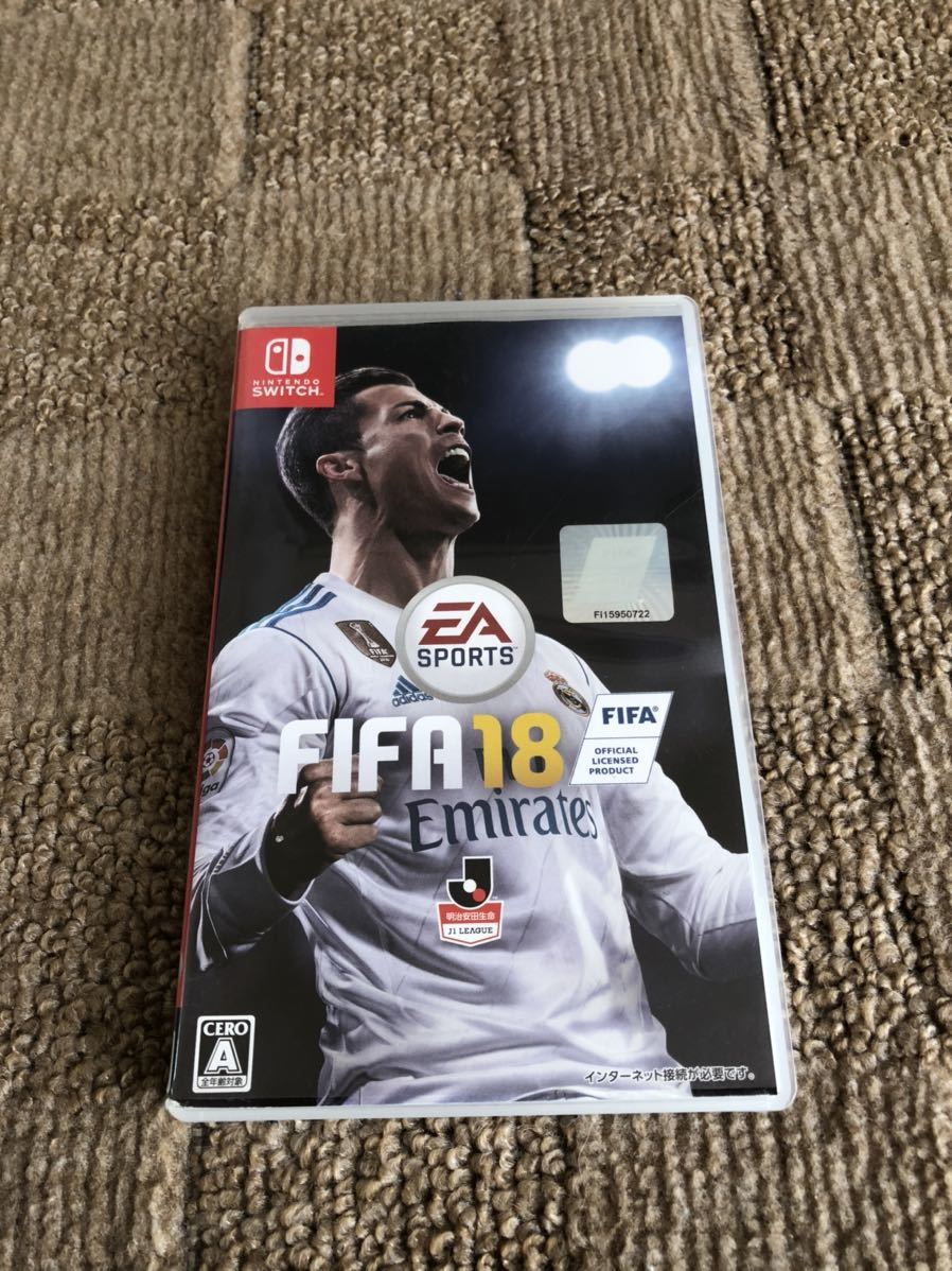 Switch ソフト FIFA 18 中古 送料無料