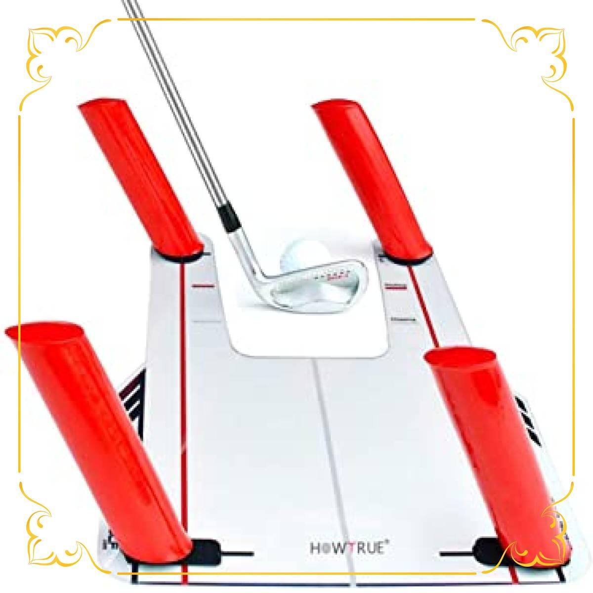 ゴルフ スイング練習機 スイング練習器具 スピードトラップベース パッティング 矯正_画像1