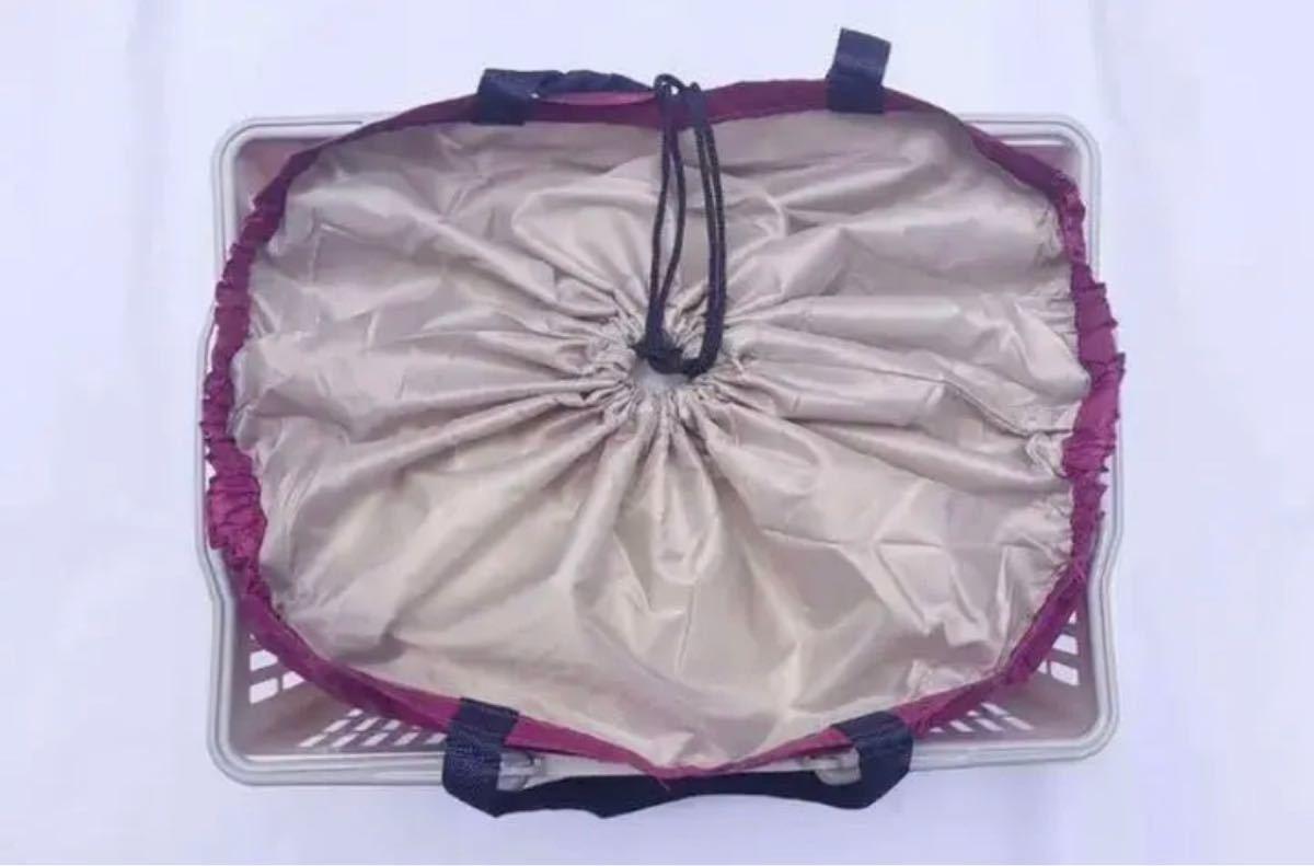 レジかごバッグ 保冷保温 エコバッグ レジカゴ 折り畳み