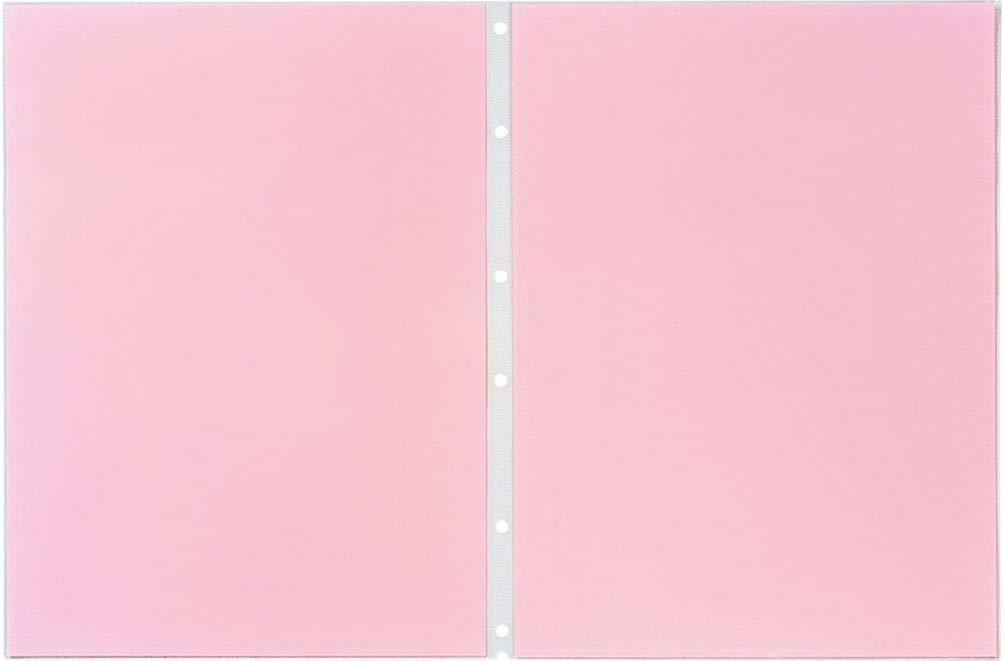 【未使用品】キングジム クリアーファイルエコノミー ヒクタスP S 赤 A4S 7103EDアカ×10パックセット_画像1