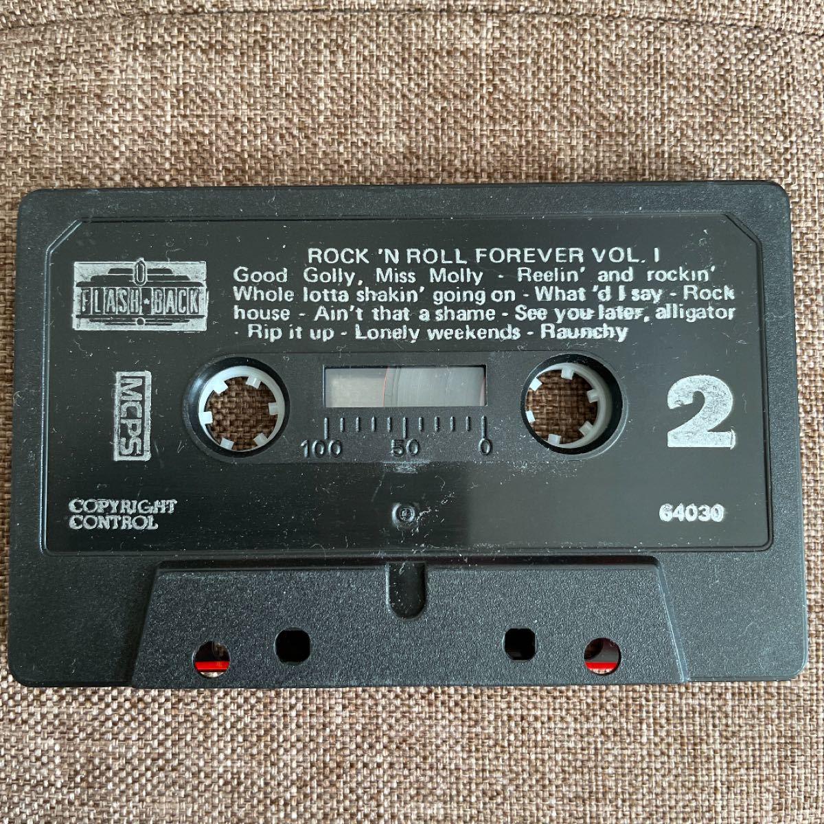 カセットテープ Rock'n Roll forever