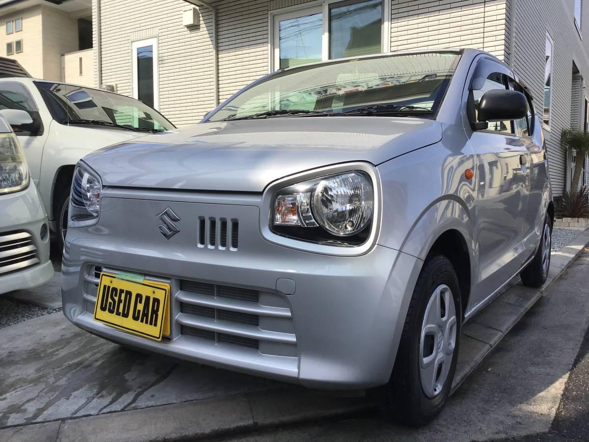 「激安ポッキリ価格希少5速マニュアル新古車レベル アルトF」の画像1