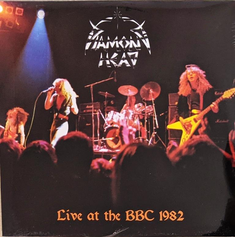 Diamond Head ダイアモンド・ヘッド - Live At The BBC 1982 500枚限定アナログ・レコード