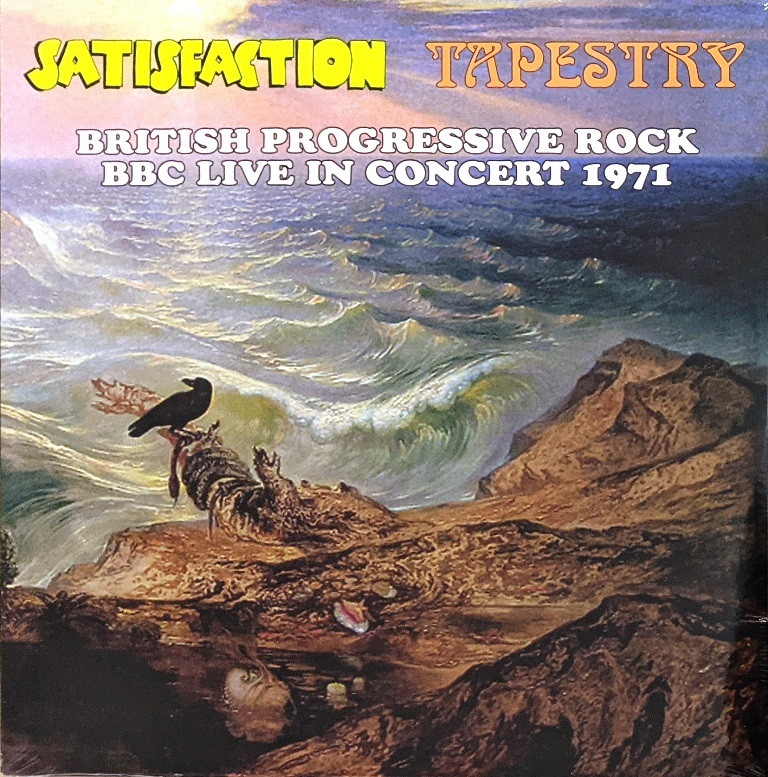 Satisfaction / Tapestry - British Psychedelic Rock - BBC Live In Concert 1971 限定アナログ・レコード