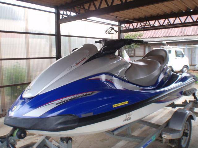 「ヤマハ MJ FX160クルーザー SOREX モナドトレーラー 500キロ積み セット YAMAHA marinejet FX160 cruiser 」の画像1