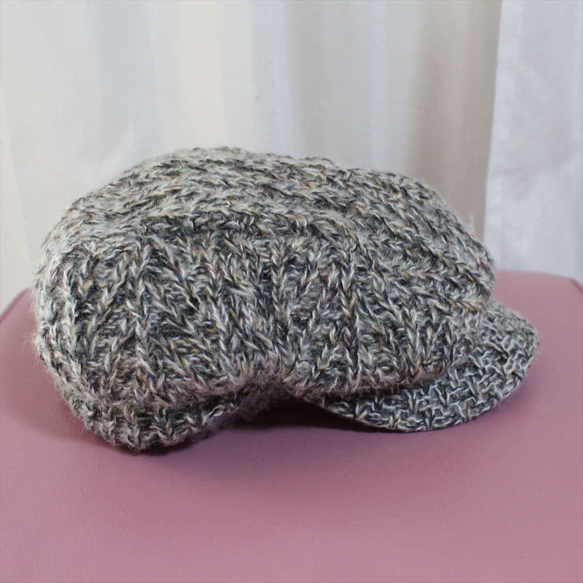 フェニックス phenix melange knit casquette 新品 キャスケット 帽子 メランジニット_画像3