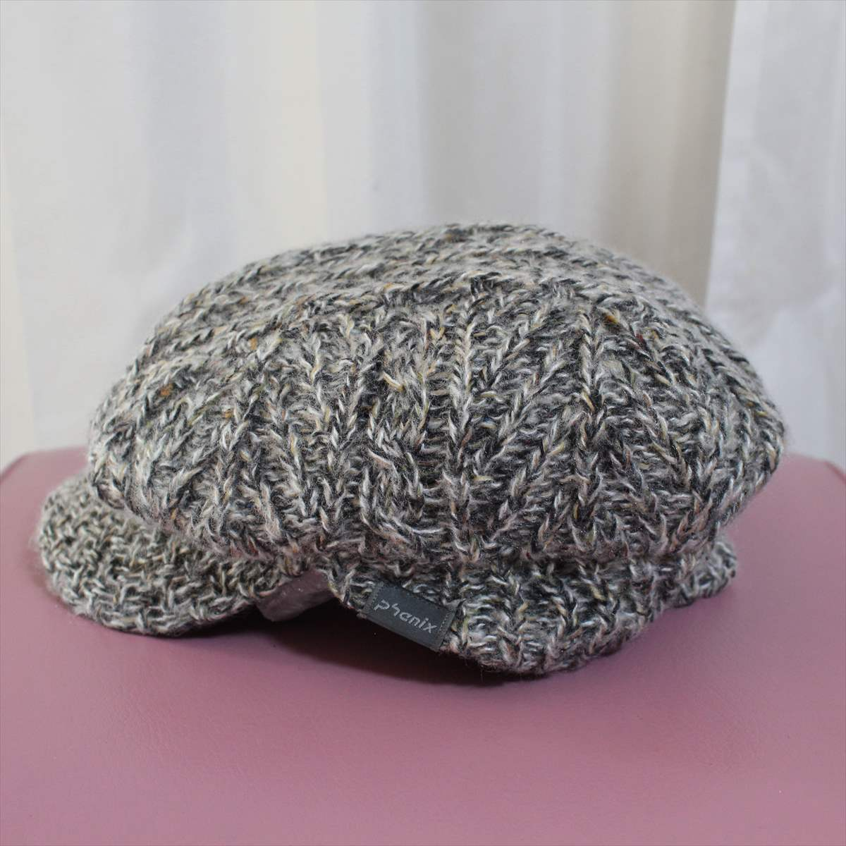 フェニックス phenix melange knit casquette 新品 キャスケット 帽子 メランジニット_画像2