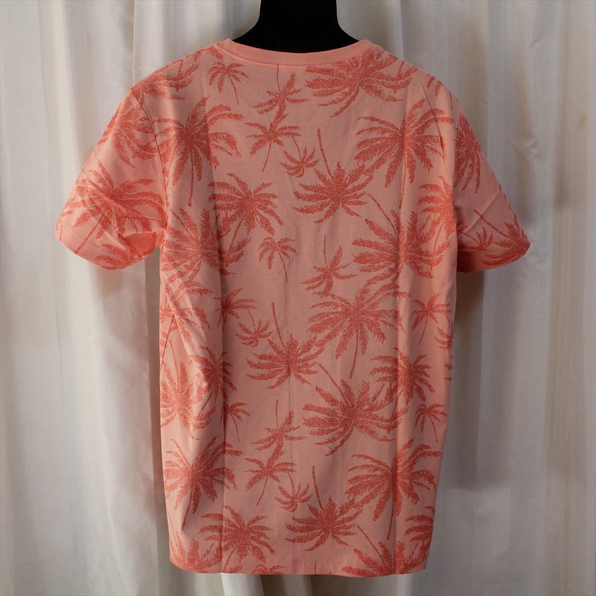 ピコ PIKO メンズ半袖Tシャツ ジョンブリアン色 XLサイズ 新品 サーフ ハワイアン_画像3