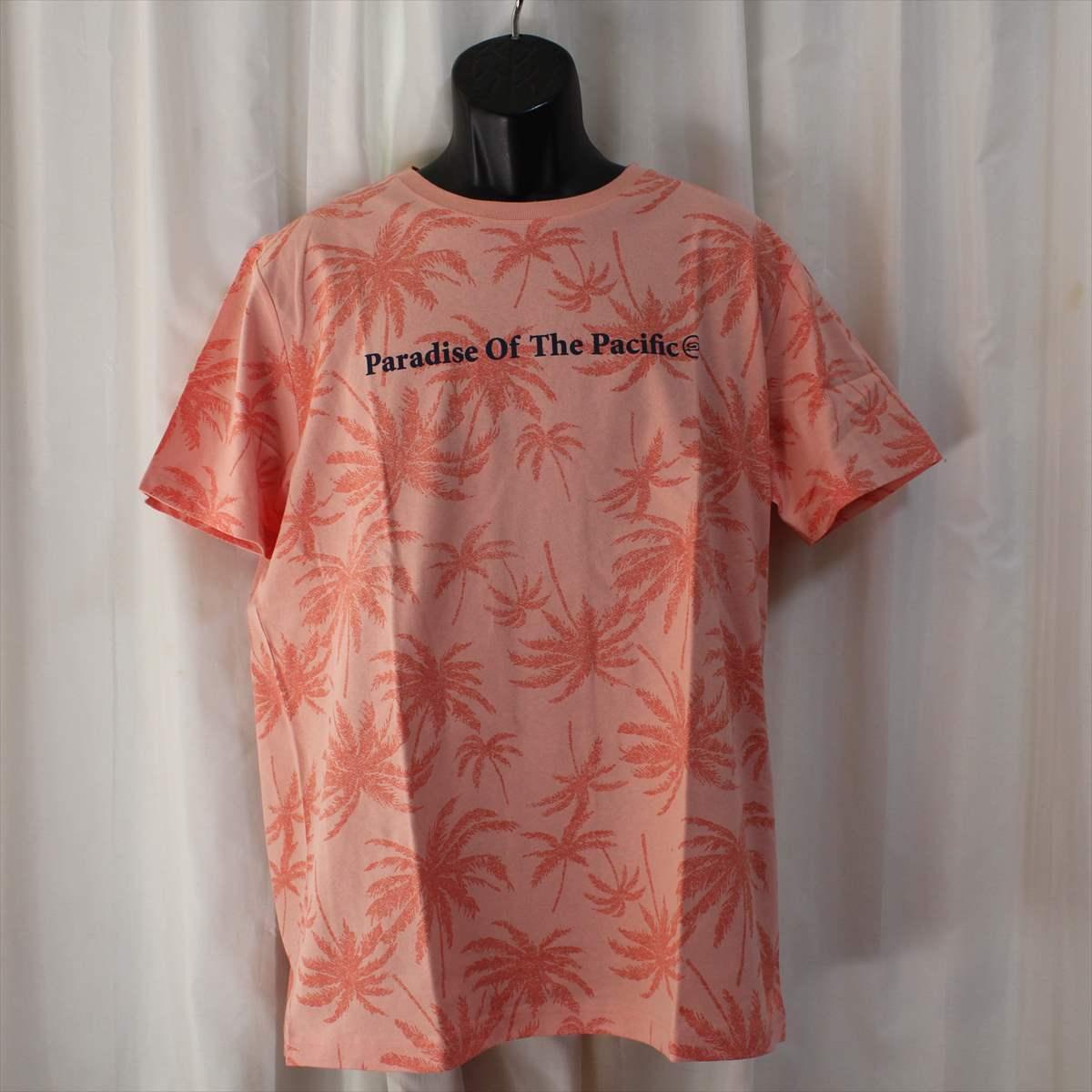 ピコ PIKO メンズ半袖Tシャツ ジョンブリアン色 XLサイズ 新品 サーフ ハワイアン_画像1