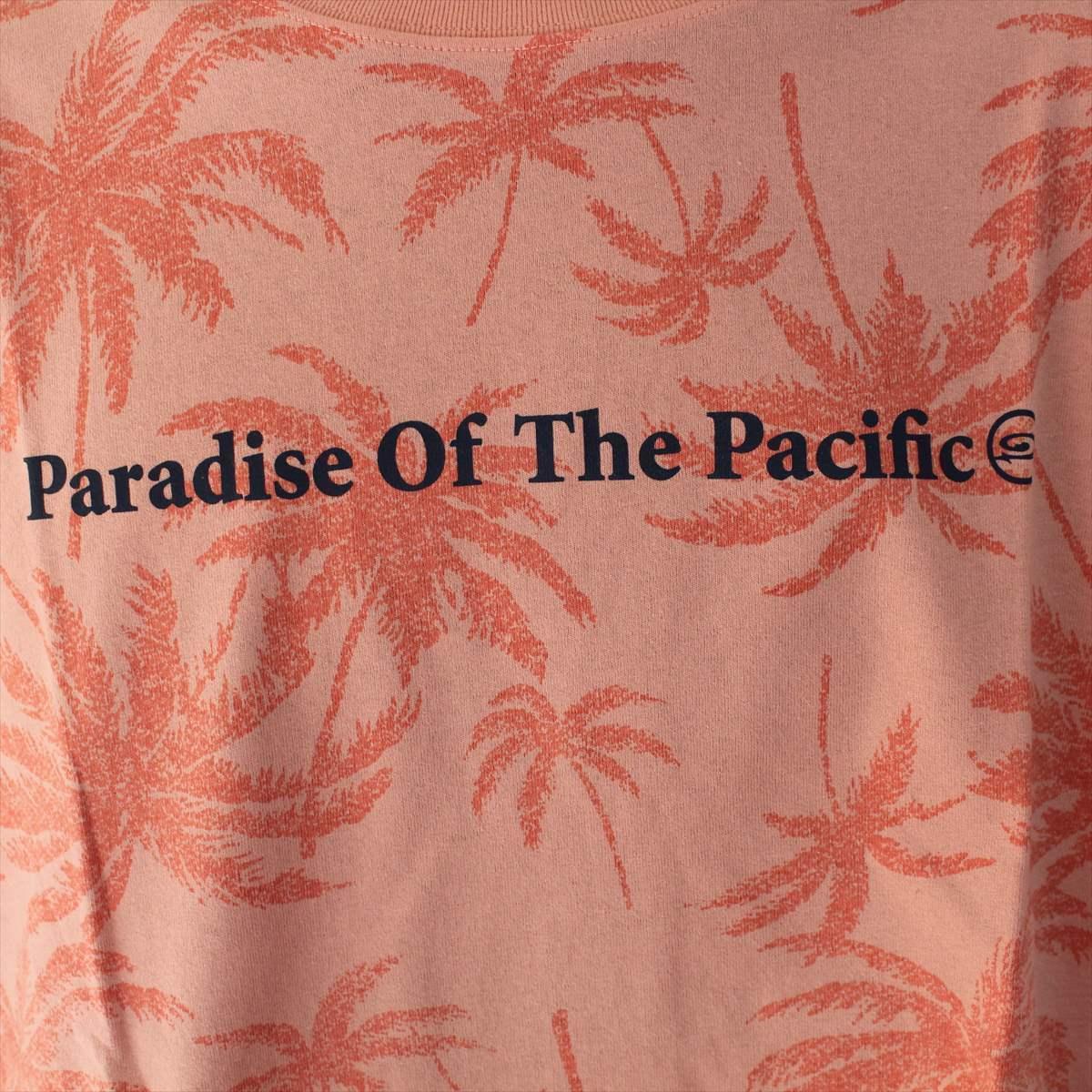 ピコ PIKO メンズ半袖Tシャツ ジョンブリアン色 XLサイズ 新品 サーフ ハワイアン_画像2