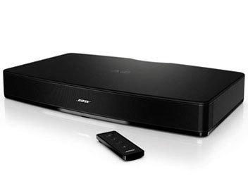 ☆彡 中古 Bose Solo TV sound system [ブラック]台座型の形状を採用した薄型テレビ用スピーカーZB_画像1