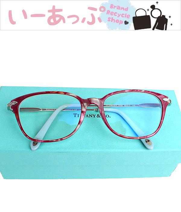 ティファニー メガネ 眼鏡 めがね サングラス 新品同様 n742