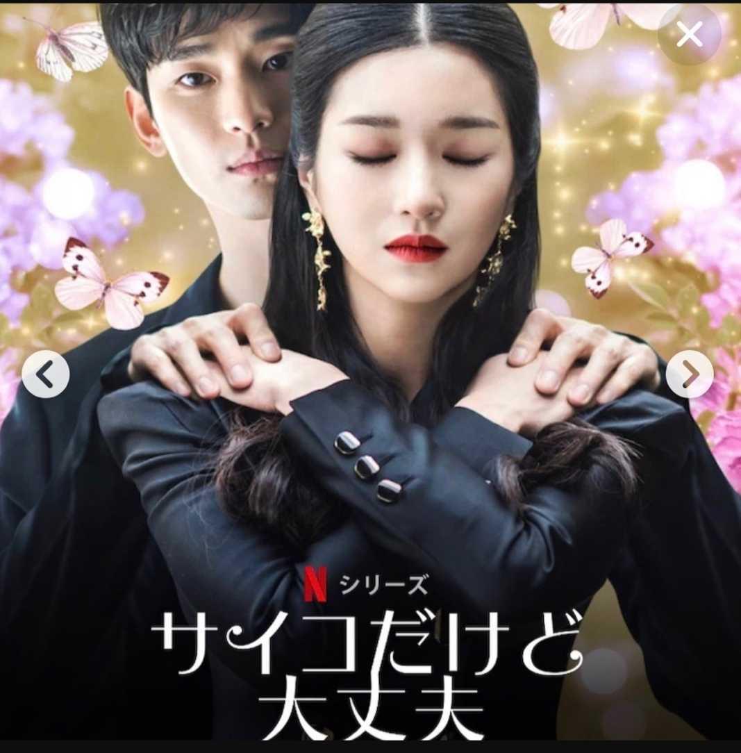 韓国ドラマ 【サイコだけど大丈夫】 Blu-ray 1枚 全話収録