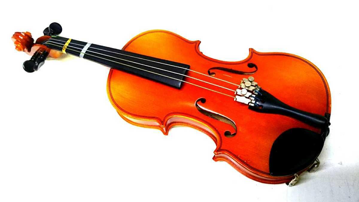 S※ SUZUKI 鈴木バイオリン VIOLIN 1/10 No.220 1991年製 ハードケース付き_画像2