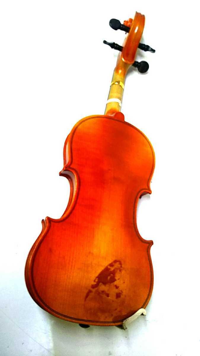 S※ SUZUKI 鈴木バイオリン VIOLIN 1/10 No.220 1991年製 ハードケース付き_画像4