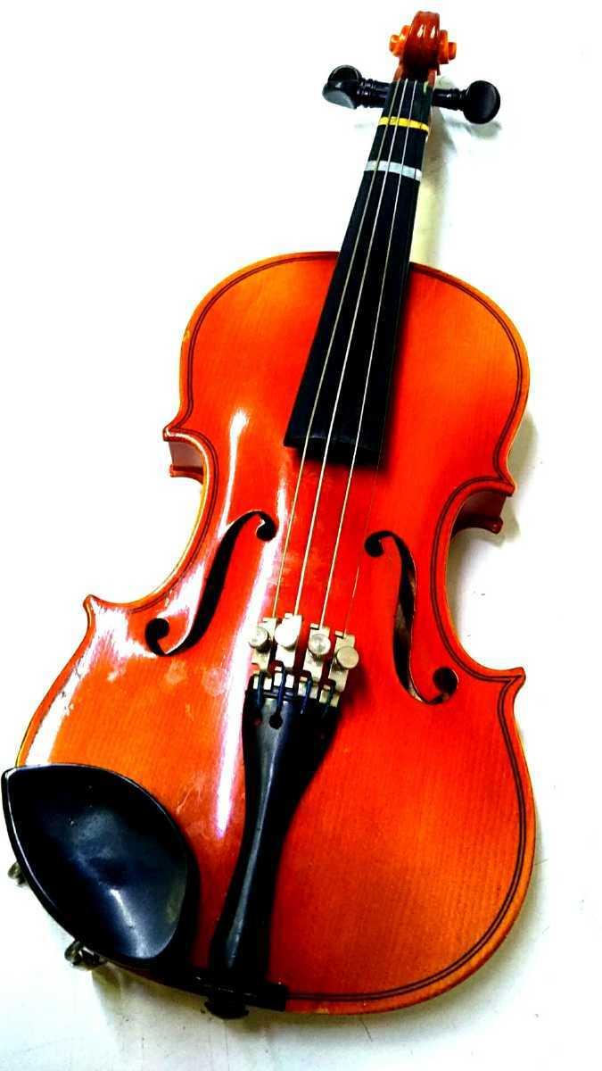 S※ SUZUKI 鈴木バイオリン VIOLIN 1/10 No.220 1991年製 ハードケース付き_画像3