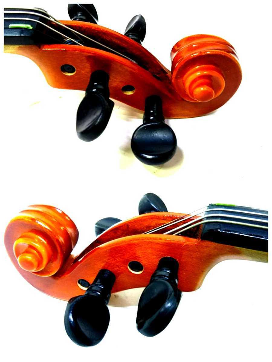 S※ SUZUKI 鈴木バイオリン VIOLIN 1/10 No.220 1991年製 ハードケース付き_画像7