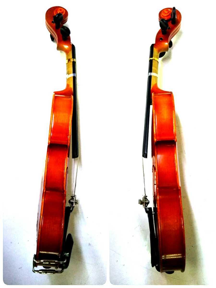 S※ SUZUKI 鈴木バイオリン VIOLIN 1/10 No.220 1991年製 ハードケース付き_画像5