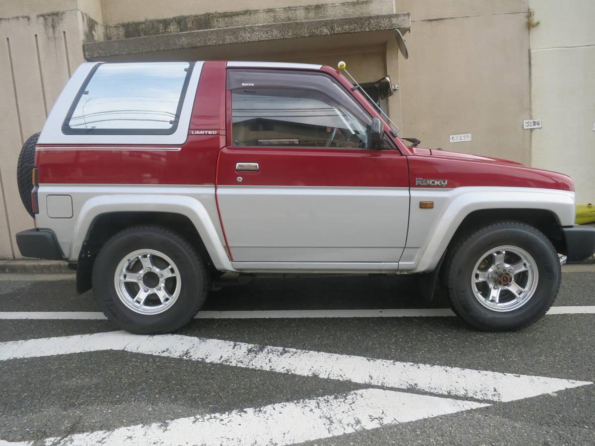 「平成4年式 ダイハツロッキー(初期型)SXリミテッド マニュアル車 絶滅危惧種」の画像2