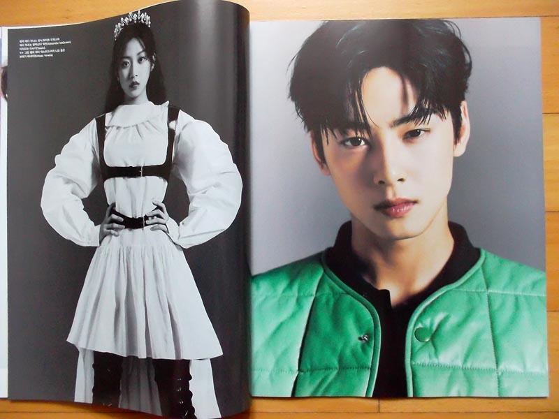 [ASTRO チャ・ウヌ] 韓国雑誌切り抜き 10P/2020年12月号_画像2
