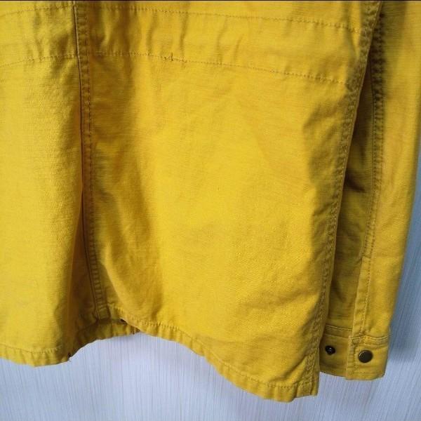 バッグナンバーLetter◎ジャケット からし色 アウトドア登山 キャンプ(M)