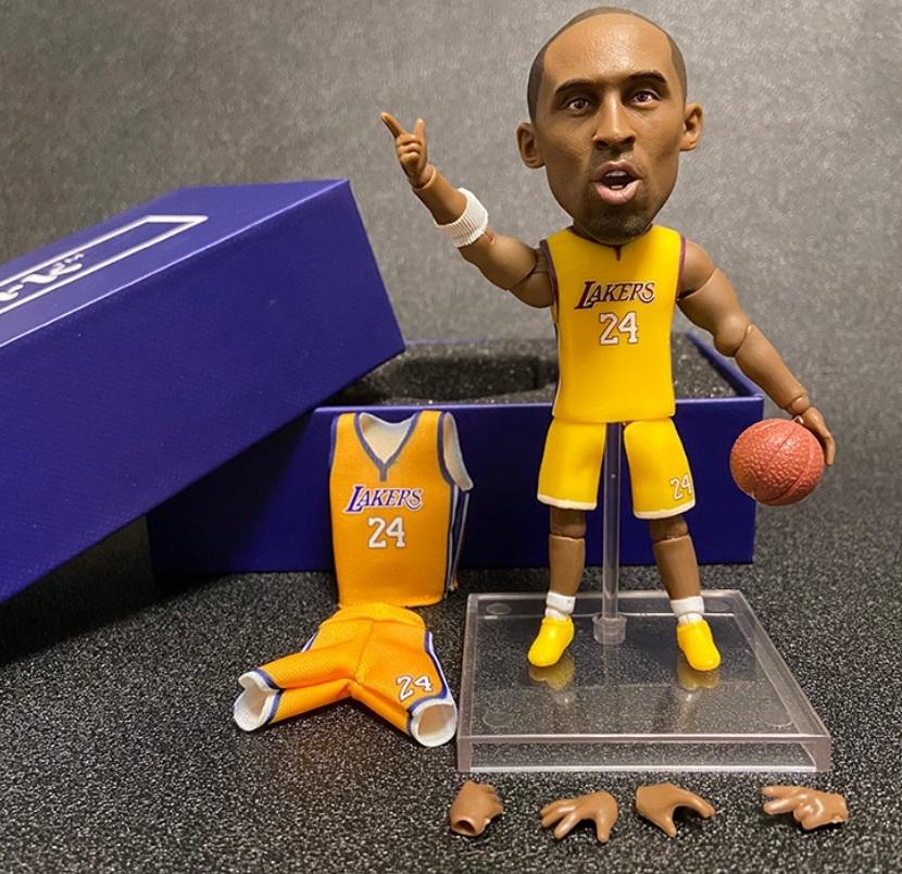 海外 限定 送料込み コービー・ブライアント NBA フィギュア 6_画像1