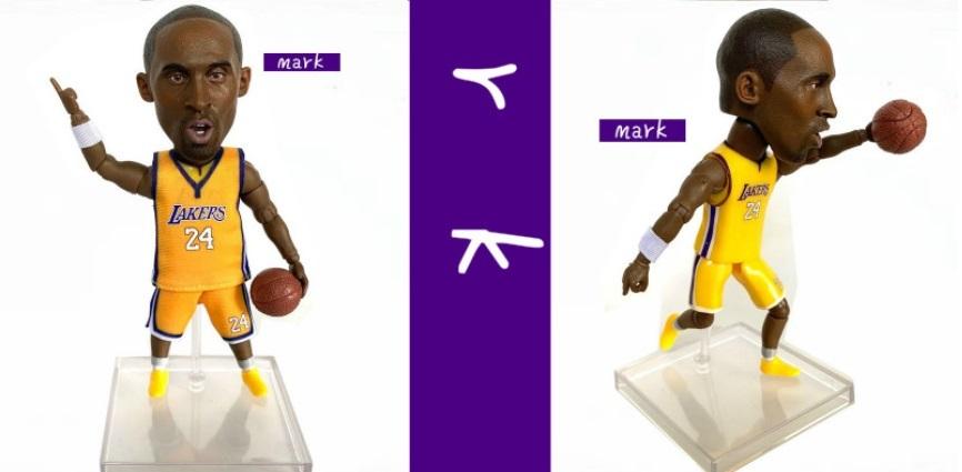 海外 限定 送料込み コービー・ブライアント NBA フィギュア 6_画像2