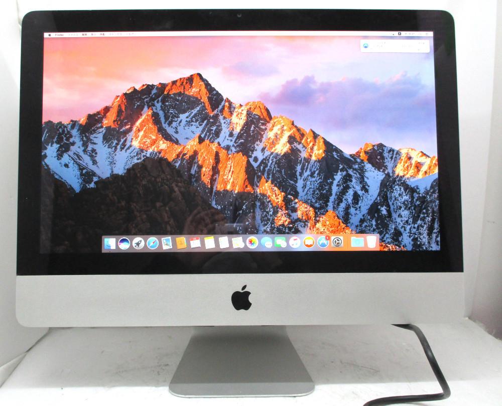 ◆Apple iMac (21.5-inch Mid 2011) A1311 Core i5 2400S 2.5GHz 4GB 500GB Radeon HD6750M 21.5インチ 1920×1080 macOS Sierra 10.12.6_画像1