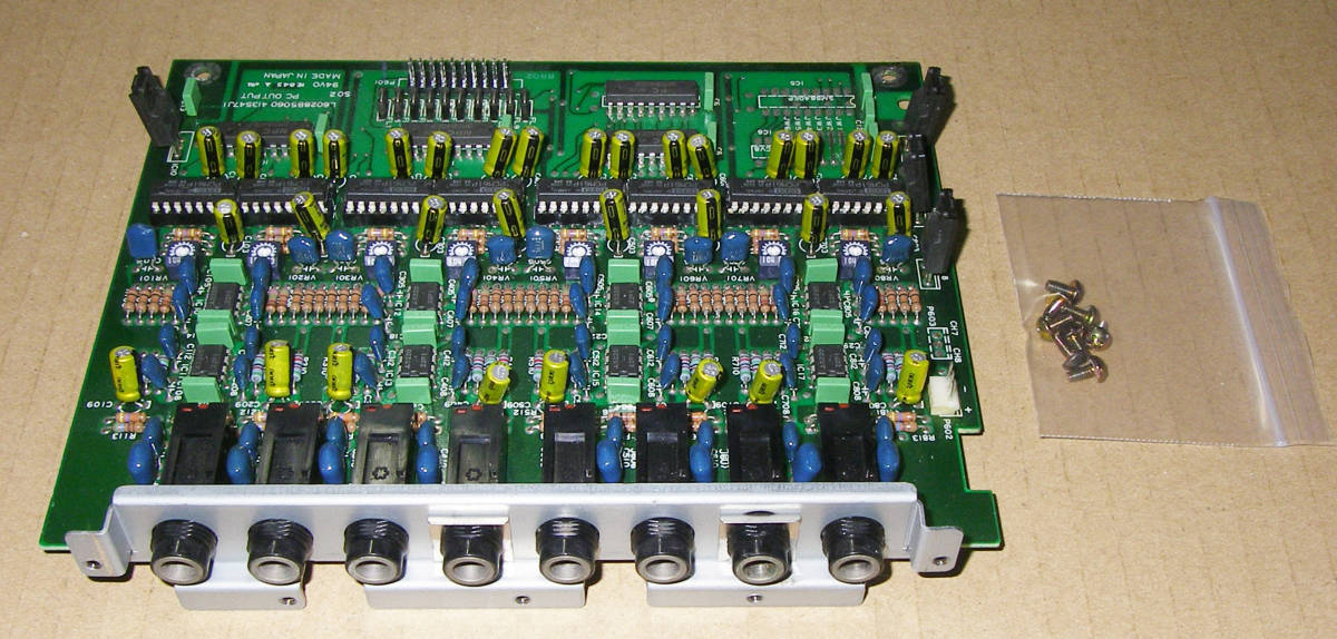 ★Akai CD3000/CD3000i/S3000/S3000i other PCM61P 8 Channel Output ★OK!!★MADE in JA