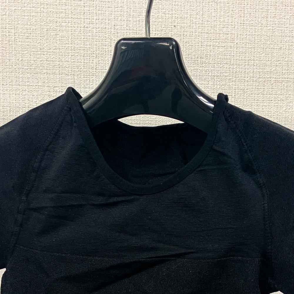 【開封済新品】メンズ/加圧Tシャツ/M/ブラック/Msp050_BD044