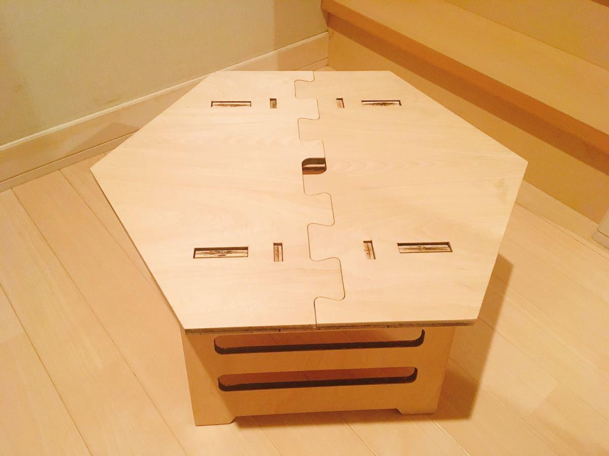 ローテーブル ☆ヘキサテーブル