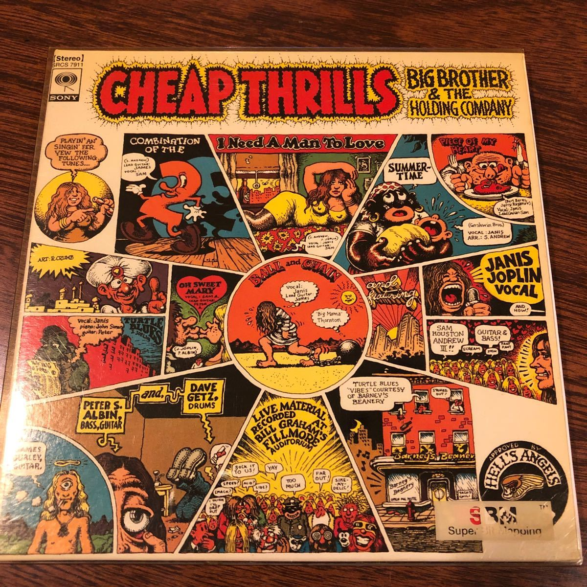 JANIS JOPLIN BIG BROTHER & THE HOLDING COMPANY / CHEAP THRILLS